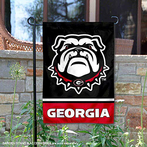 (College Flags and Banners Co. University of Georgia Bulldogs Garden Flag)
