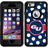 OtterBox Apple iPhone 6/6s Black Defender Case with Gonzaga University Polka Dots, Full-Color Design
