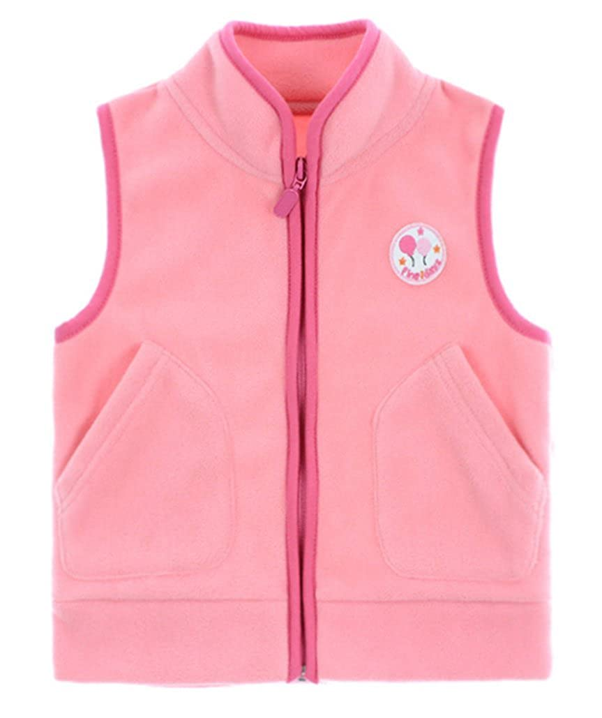 Dalary Baby Boys&Girls Polar Fleece Sleeveless Jacket Outerwear Vests Three Babies_359