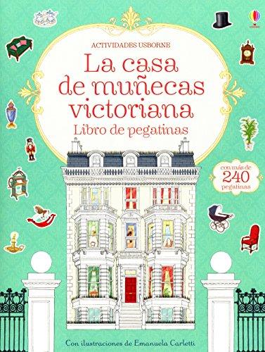 La casa de muñecas victoriana: Libro de pegatinas