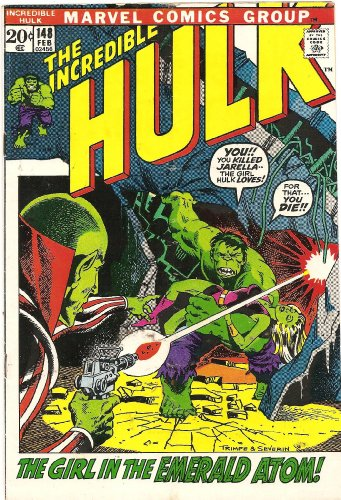 The Incredible Hulk #148 (But Tomorrow...The Sun Shall Die!)