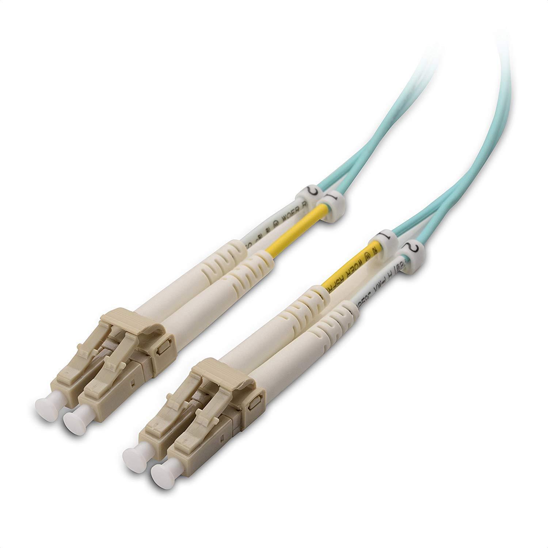 Cable Fibra Optica OM3 30mt LC a LC DUPLEX 50/125 C Matters