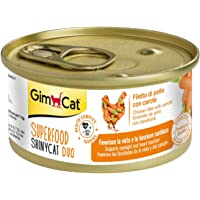 GimCat Super Food Shinycat Chicken and Carrot 70 gm