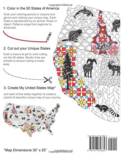 My United States: Coloring Book & Map Creator: Edwin Donnelly ...