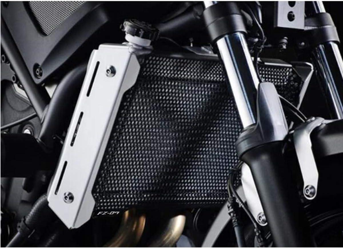 FZ07 Motorcycle Aluminum Radiator Guard Cover Grill Guard for Yamaha FZ-07 FZ07 FZ 07 2013 2014 2015 2016 2017-Black