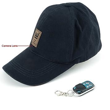 wiseup 8 GB 1080p HD Mirilla sombrero gorra de béisbol Cámara oculta espía DVR con mando a distancia: Amazon.es: Bricolaje y herramientas