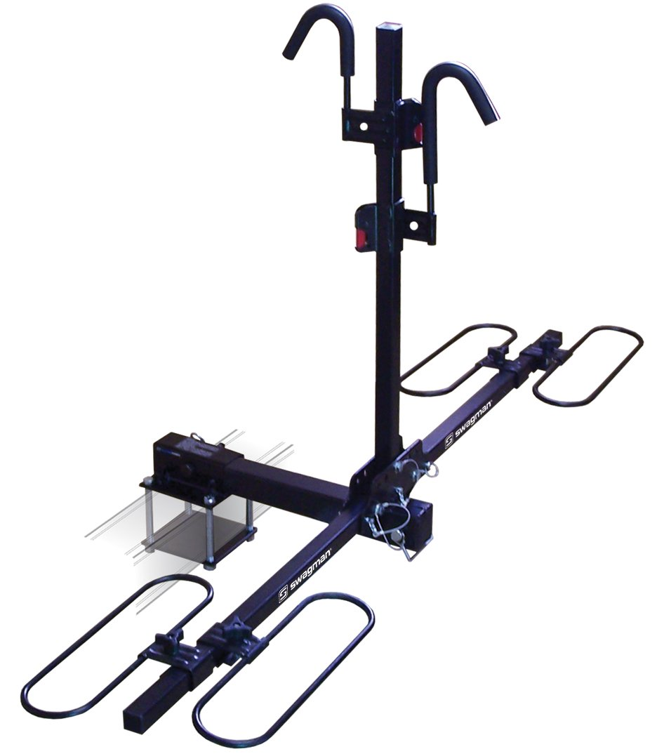 Swagman Traveler XC2-RV 2 Bike Carrier with Bumper Adaptor by Swagman Bicycle Carriers