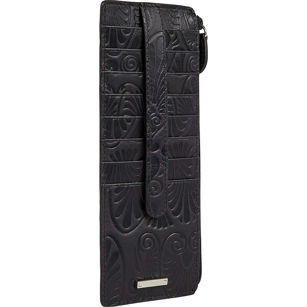 Lodis Denia Cit Card Case with Zipper Pocket (Black, One Size) by Lodis (Image #4)