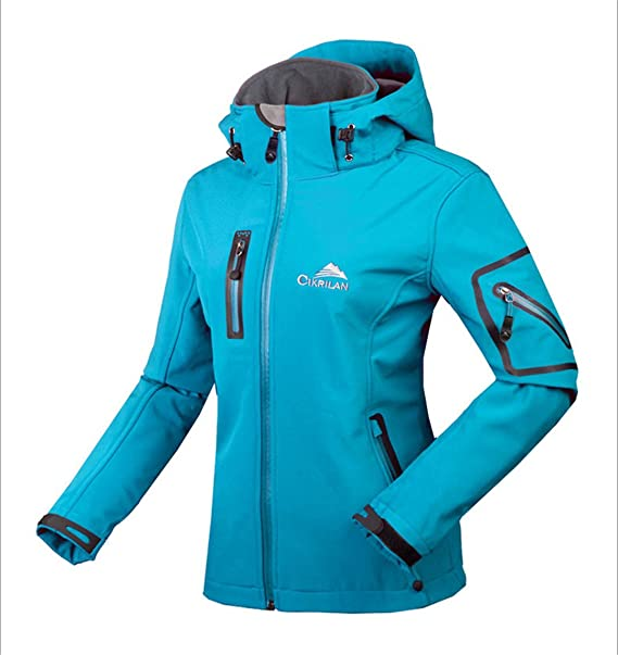 Amazon.com: Winter Water Waterproof Breathable Softshell Jacket Women Windbreaker Outdoor Sport for Climing Hiking: Clothing