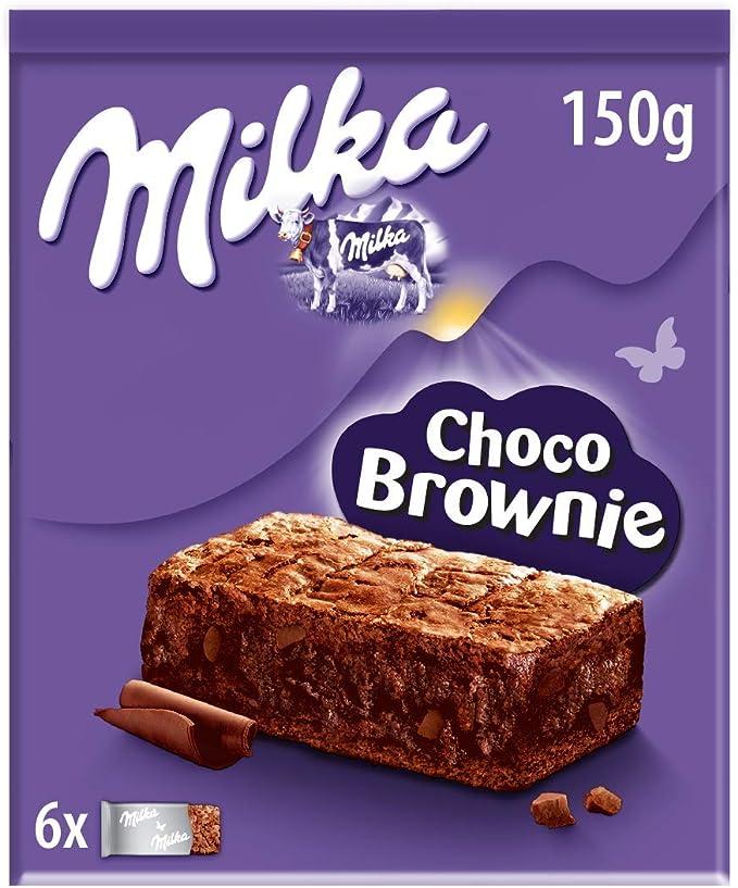 Milka Choco Brownie Bizcocho de Chocolate con Leche de Los ...