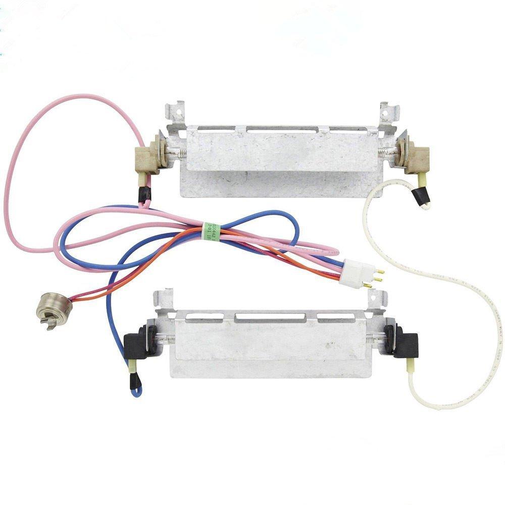 Pokin Defrost heater for General Electric Refrigerator, WR51X442 WR51X0371 WR51X0342