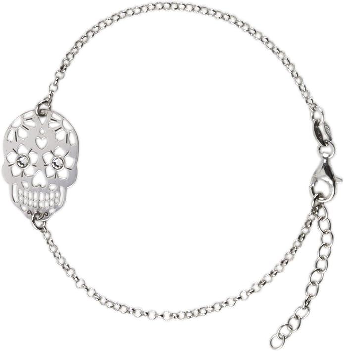Acheter bracelet tete de mort online 5
