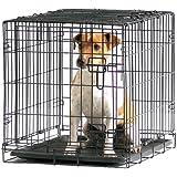 Savic Dog Cottage 61 Cm Dog Crate Black Powder Coated 61 X 44 X 50 Cm