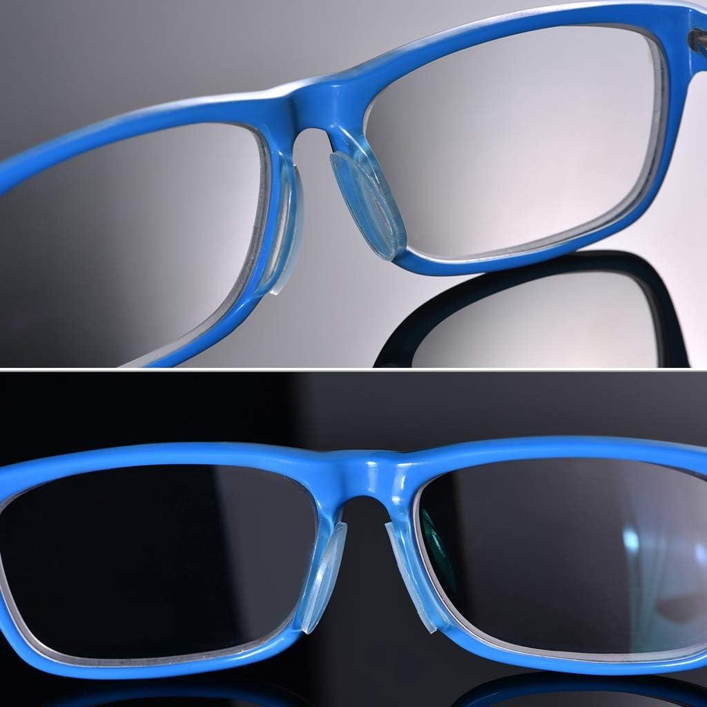 Gafas de gafas de sol de 5 pares anteojos Gafas de silicona antideslizante en la almohadilla de la nariz Regard