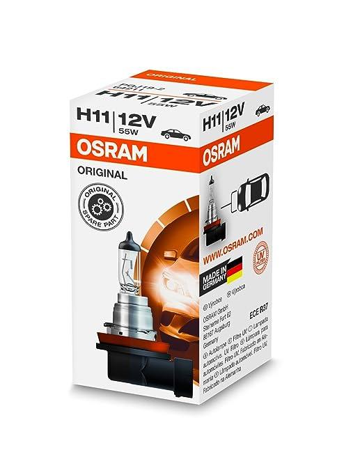 44 opinioni per OSRAM Original 12V H11 Lampada alogena per proiettori 64211- Confezione singola