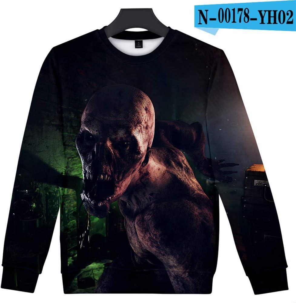yinghuohuo Subway Sale suéter de Cuello Redondo Impreso en 3D CL ...