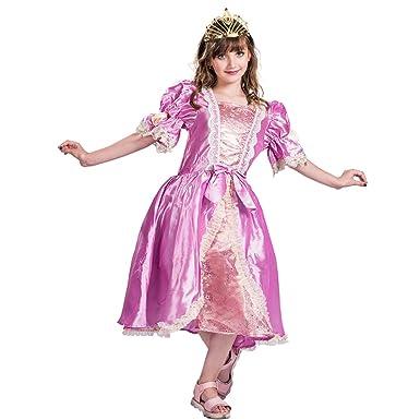 EraSpooky Mädchen Luxus Prinzessin Parteikleid Puff: Amazon.de ...