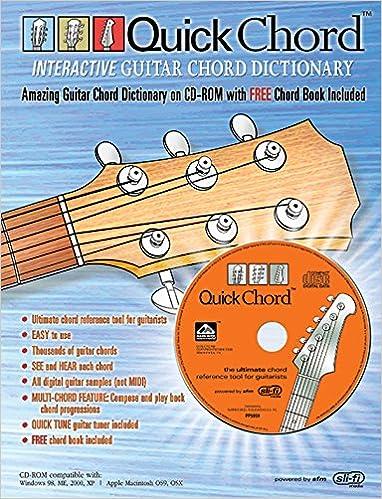Quick Chord Interactive Guitar Chord Dictionary: FREE Chord Book
