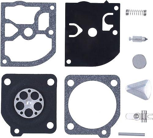 Carburetor Repair Diaphragm Gasket Kit Fit Husqvarna 40 45 49 55 H55 Zama RB-45
