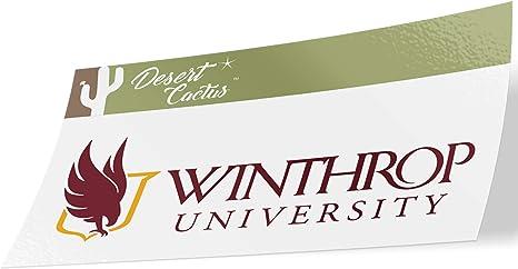 Sticker - 4 Winthrop University Eagles NCAA Design Sticker Vinyl Decal Laptop Water Bottle Car Scrapbook