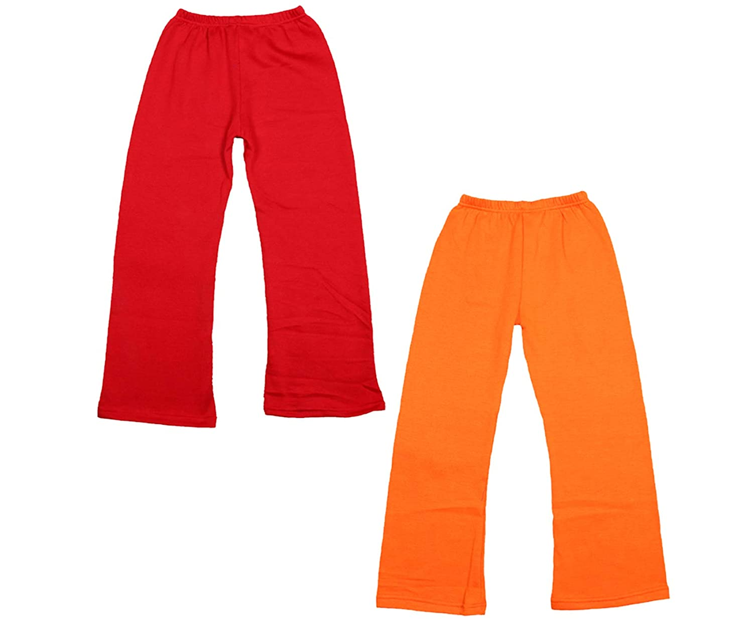 Indistar Girls Warm Woolen Palazzo Pants for Winters Pack of 2
