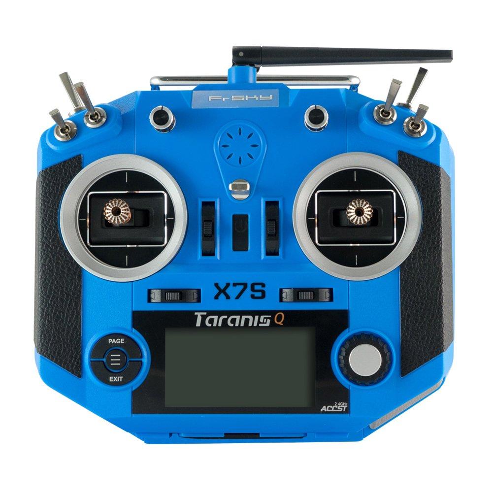 ZMR Special Edition FrSky 2.4 G 16 CH Taranis Q x7s送信機TXモード2 m7ジンバルワイヤレストレーナーFreeリンクAppバッグfor RCモデル(左ハンドスロットル   B075V11D7R