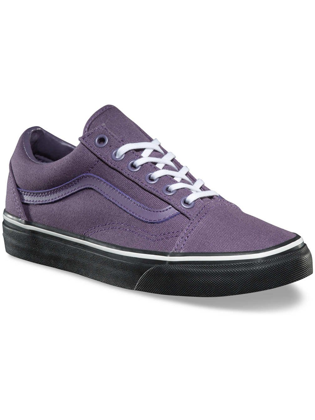 Vans Unisex Old Skool Classic Skate Shoes B075MKCKBN 5 M US Women / 3.5 M US Men|Montana Grape/Black