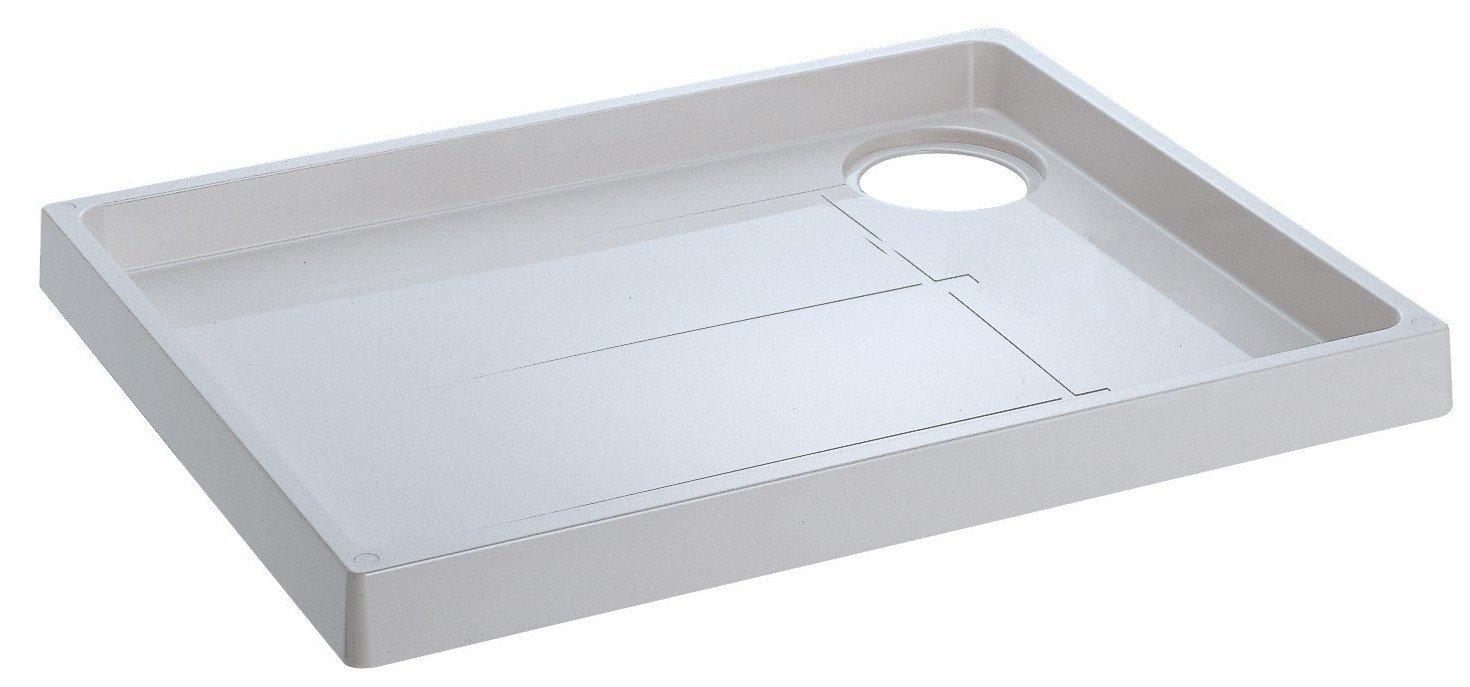 SANEI 【洗濯機パン】 トラップ穴左側 外寸640×800mm H541-800L B00CJ57TM6