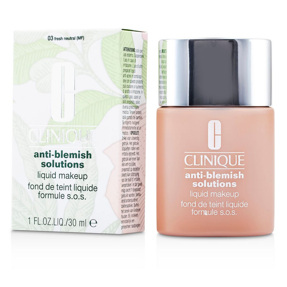 CLINIQUE by Clinique Anti Blemish Solutions Liquid Makeup - # 03 Fresh Neutral --30ml/1oz for WOMEN ---(Package Of 6)
