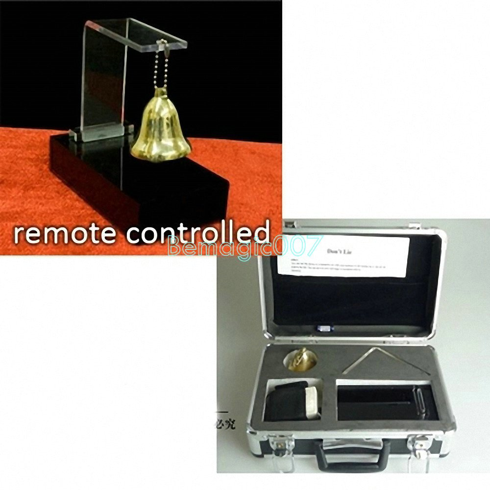 Spirit Bell - Electronic - Remote Controlled - HOT SELLING - Mentalism Magic Tricks