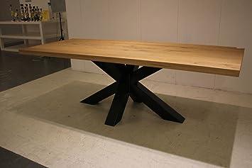 Idea Table De Sejour Charles De 240 X 100 Cm En Chene Massif