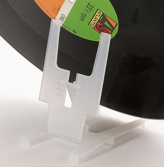 Solución profesional para discos de vinilo y LP. Kit de limpieza y restauración antiestático para discos de vinilo (250 ml) con soporte, paños de ...