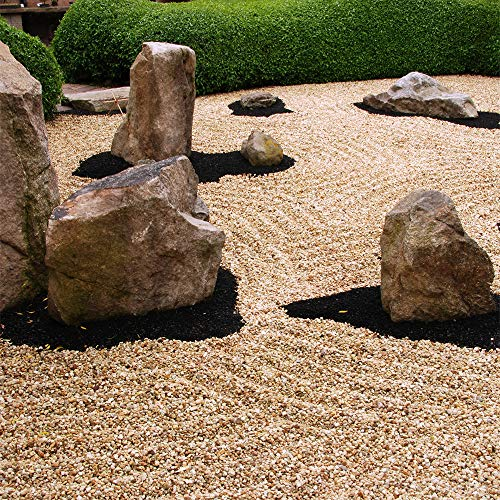 Southwest Boulder & Stone Landscape Rock and Pebble | 20 Pounds | Natural, Decorative Stones and Gravel for Landscaping, Gardening, Potted Plants, and More (Patagonia, 3/8 Inch)