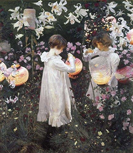 Carnation Lily Rose by John Singer Sargent Art Print, 14 x 16 (John Singer Sargent Carnation Lily Lily Rose)