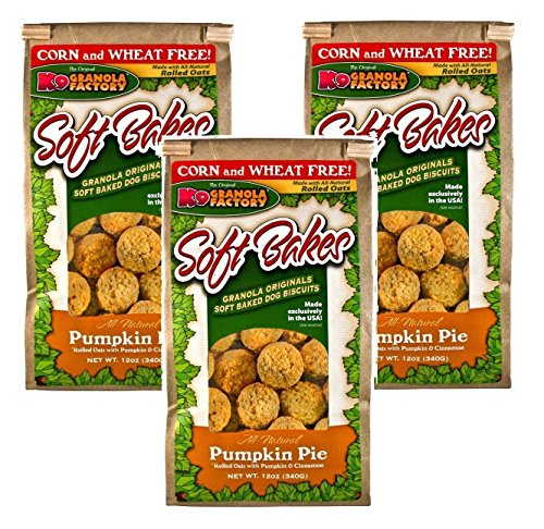 K9 Granola Factory Soft Bakes Pumpkin Pie (Pack of 3)]()
