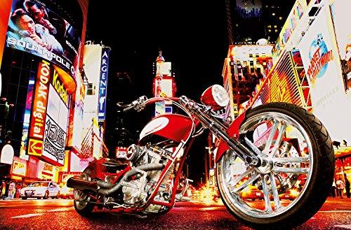 komar-dm653-ideal-decor-midnight-rider-1-panel-wall-mural