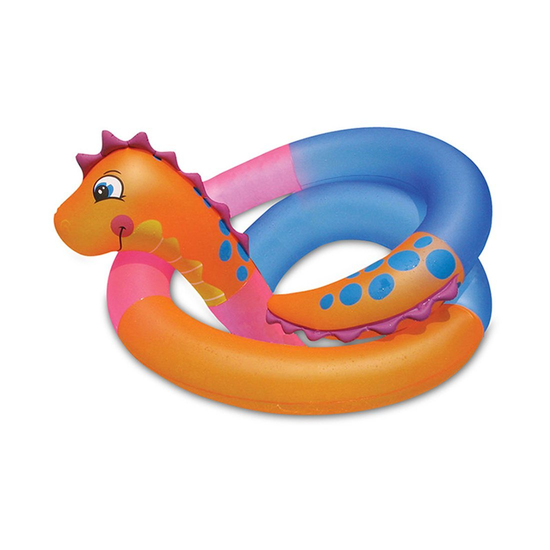 DMGF Inflatable Pool Float Swimming Ring Raft Tube Kids Summer Water Sport Fun Toy Giant Snake Floats With Rapid Valves 792Cm