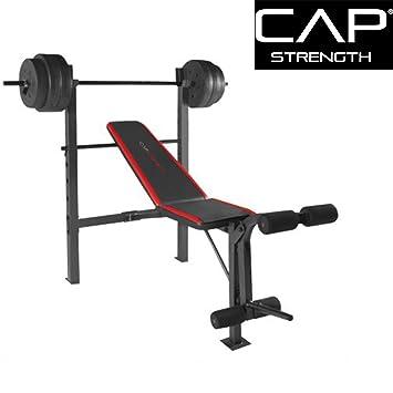 Amazon.com : CAP Barbell FM-7230 Steel-framed Strength Standard ...