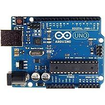 RoboGets Arduino Uno R3 Compatible ATmega328P Microcontroller Card & USB Cable for Electronics & Robotics