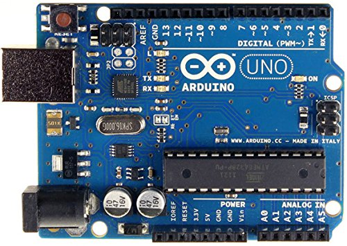 RoboGets Arduino Uno R3 Compatible ATmega328P Microcontroller Card & USB Cable for Electronics & Robotics