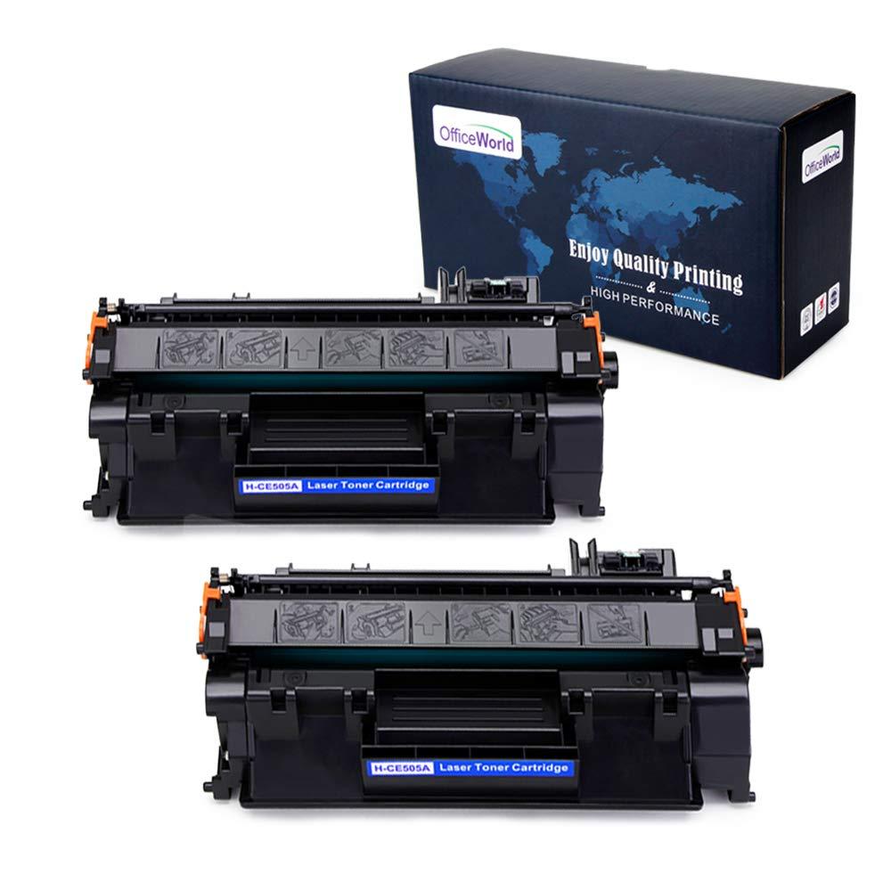 Toner Alternativo ( X2 ) Negro 05A CE505A 05A CE505A P2035 P2055dn P2035n P2055d P2055x