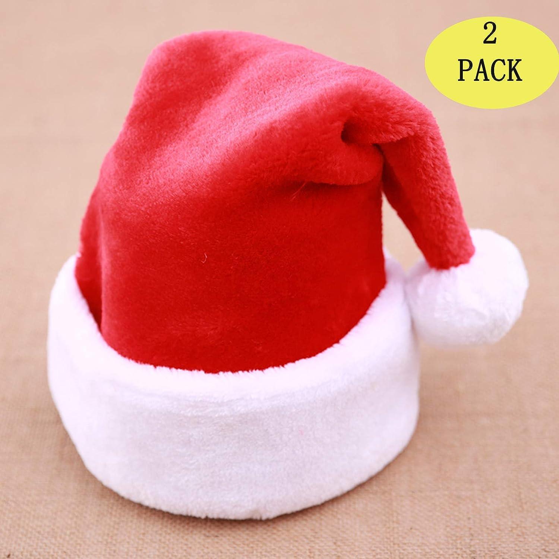 Sombreros de Navidad a granel de Papá Noel, disfraz de Navidad, sombrero clásico, sombreros de Navidad para mujeres/hombres/niños/adultos: Amazon.es: Hogar