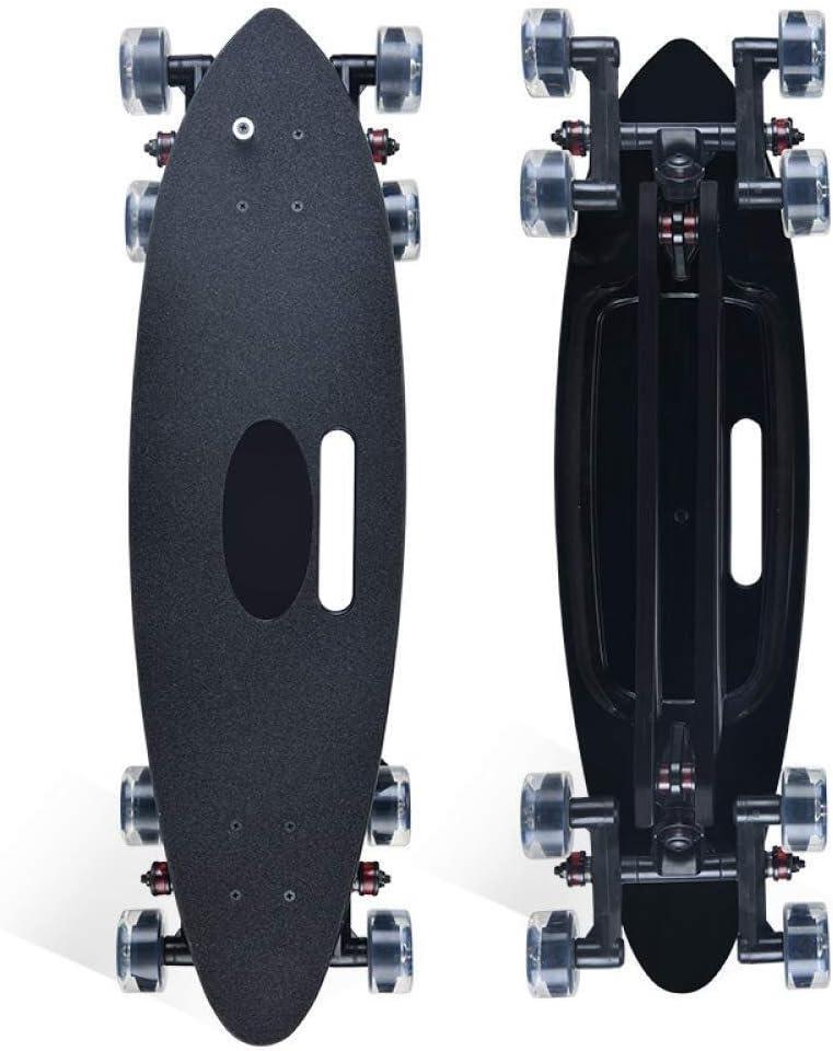 8輪スケートボードロングボードスケートボードフィッシュボードアダルトスタントスケートボードハイウェイスケートボードアーティファクト x4z3h