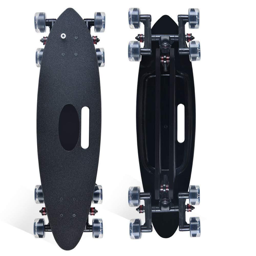 8輪スケートボードロングボードスケートボードフィッシュボードアダルトスタントスケートボードハイウェイスケートボードアーティファクト f156aw4e