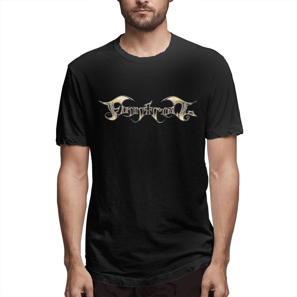 Lihehen S Finntroll Logo Round Neck T Shirts