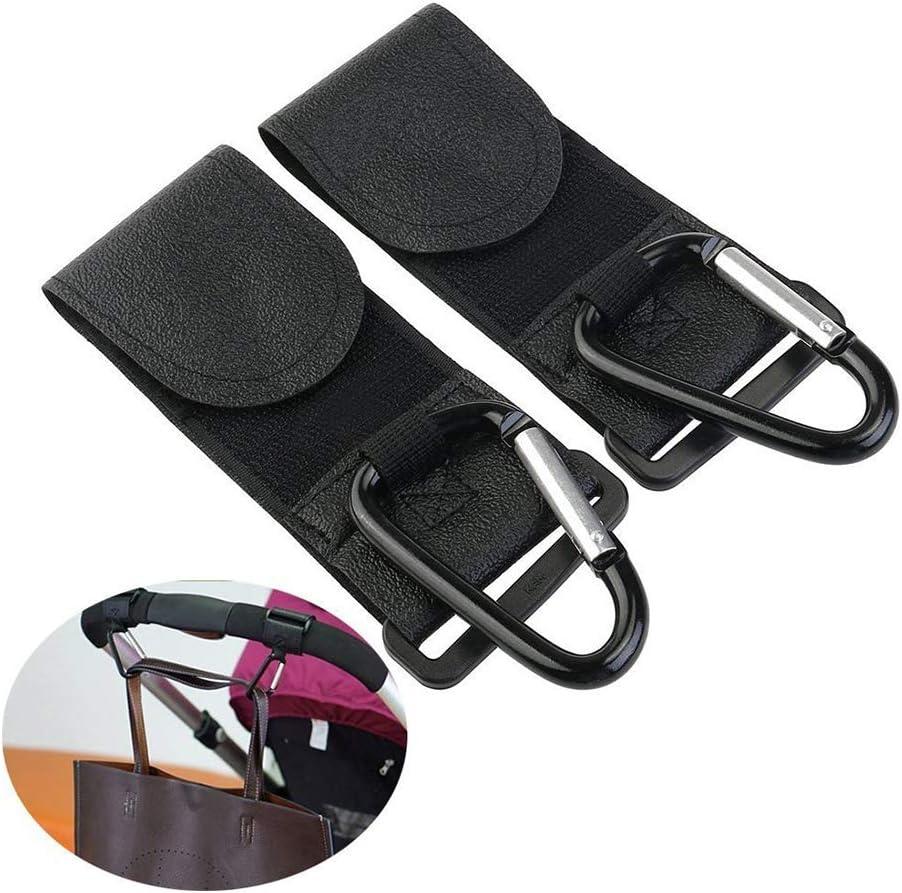 Cochecitos de ni/ño del cochecito de ni/ño de los ganchos clips accesorios cochecito de beb/é para colgar bolsillos 2pcs