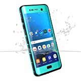 Galaxy S7 Edge Waterproof Case, iThrough Underwater Case for Galaxy S7 Edge, Dust Proof, Snow Proof, Shockproof, Heavy Duty Touch Screen Protective Carrying Cover for Samsung Galaxy S7 Edge (Blue)