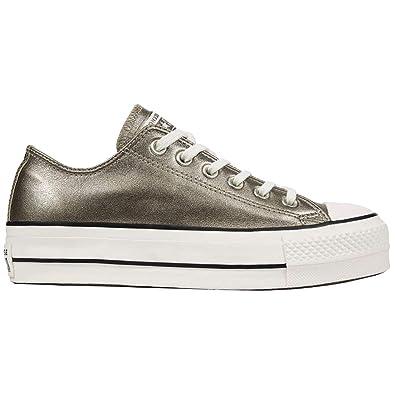 Taylor Chuck Lift Converse Ctas Ox Fille Sneakers Basses UpLzjqGSVM