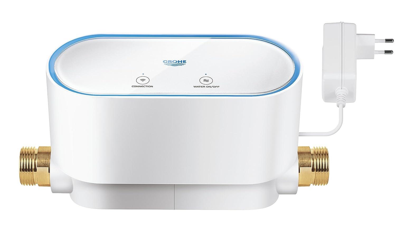 Grohe Sense - Sensor de agua, humedad y temperatura (con baterí a, WiFi y notificaciones al mó vil) Ref. 22505LN0 humedad y temperatura (con batería WiFi y notificaciones al móvil) Ref. 22505LN0