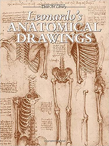 Leonardo\'s Anatomical Drawings (Dover Art Library): Leonardo da ...